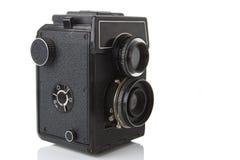 Old photo camera Stock Photo