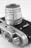 Old photo camera Stock Photos