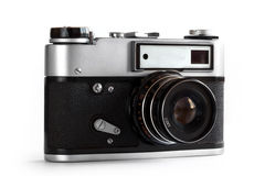 Old Photo Camera, 35 mm. Stock Photography