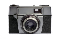 Old photo camera. Isolated on white background Stock Photography