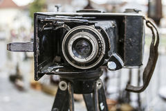 Old photo camera 8 royalty free stock images