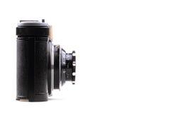 Old photo camera isolated Royalty Free Stock Image