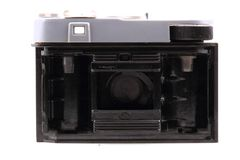 Old photo camera isolated Royalty Free Stock Image