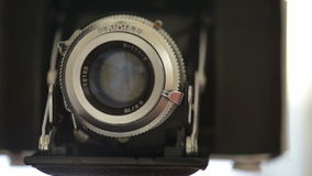 Old photo camera stock footage