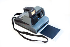 Old photo camera. Royalty Free Stock Photo