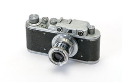 Old photo cameras Royalty Free Stock Photography
