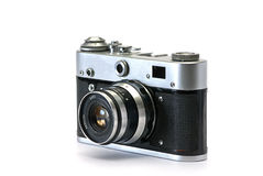 Old photo cameras Stock Image