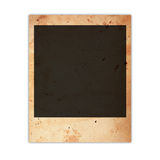 Polaroid photo card Royalty Free Stock Photography