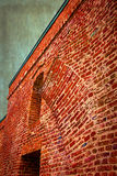 Old photo with detail of fortress wall 2. Old photo with detail of fortress wall from Maria Theresia Bastion, Timisoara, Romania. Vintage processed Royalty Free Stock Photography