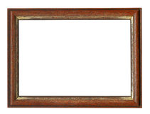 Old photo frame Stock Image