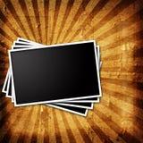 Old photo frame Stock Image