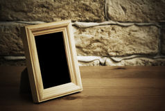 Old photo frame Stock Images