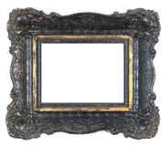 Old photo frame. Blank antique Photo frame. usable space for your text or photo Stock Photo