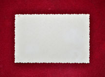 Old photo frame border. Background Stock Images