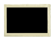 Old Photo Frame (illustration) Stock Photo