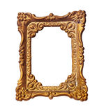 Old photo frame. Isolated on white background Royalty Free Stock Image