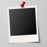 old photo frame transparency royalty free illustration