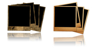 Old photo frames Royalty Free Stock Photo