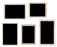 Old photo frames Royalty Free Stock Images