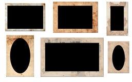 Old photo frames royalty free illustration