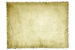 Old Photo Paper Royalty Free Stock Photography