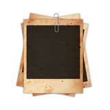 Old photo paper Royalty Free Stock Photos