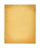 Old photo paper texture isolated Stock Images