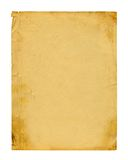 Old photo paper texture isolated Royalty Free Stock Image