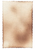 Old photo paper texture with stains, scratches and burned edges Royalty Free Stock Image