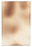 Old photo paper texture with stains, scratches and burned edges Royalty Free Stock Images