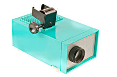 Old photo tape projector. Stock Images