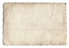 Old photo texture with stains and scratches Stock Photography
