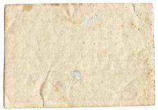 Old photo texture with stains and scratches Stock Images