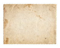 Old photo vintage texture with stains and scratches Royalty Free Stock Image