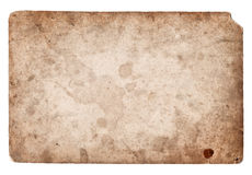 Old photo vintage texture with stains and scratches Royalty Free Stock Photo