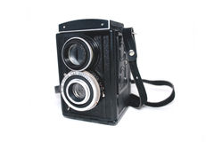 Old photocamera Royalty Free Stock Photo