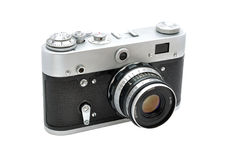 Old photocamera Royalty Free Stock Image