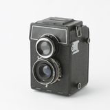 Old photocamera Stock Photography
