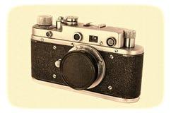 Old photocamera Stock Photos