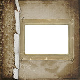 Old photoframe on the  abstract background Royalty Free Stock Photography