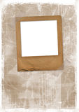 Old photoframe are hanging Royalty Free Stock Photo