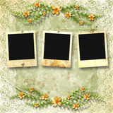Old photoframes Royalty Free Stock Image