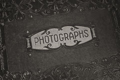 An Old Photograph Album Royalty Free Stock Photo