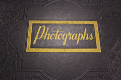 An Old Photograph Album Royalty Free Stock Photos
