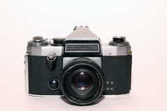Old photograph camera Royalty Free Stock Images