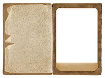 Old photograph frame Royalty Free Stock Photo