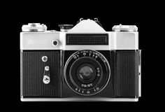 Old photographic camera Royalty Free Stock Photo