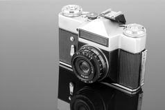 Old photographic camera Royalty Free Stock Image