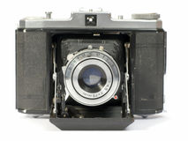 Old photographic camera Royalty Free Stock Photography