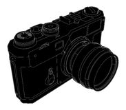 Old Photographic Camera Vector Royalty Free Stock Photos